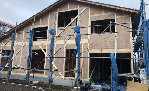 TKプランニング 建設中 家