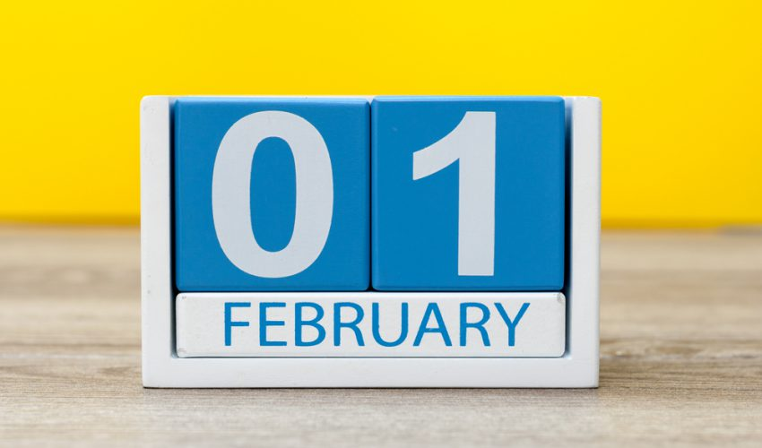 2月 カレンダー