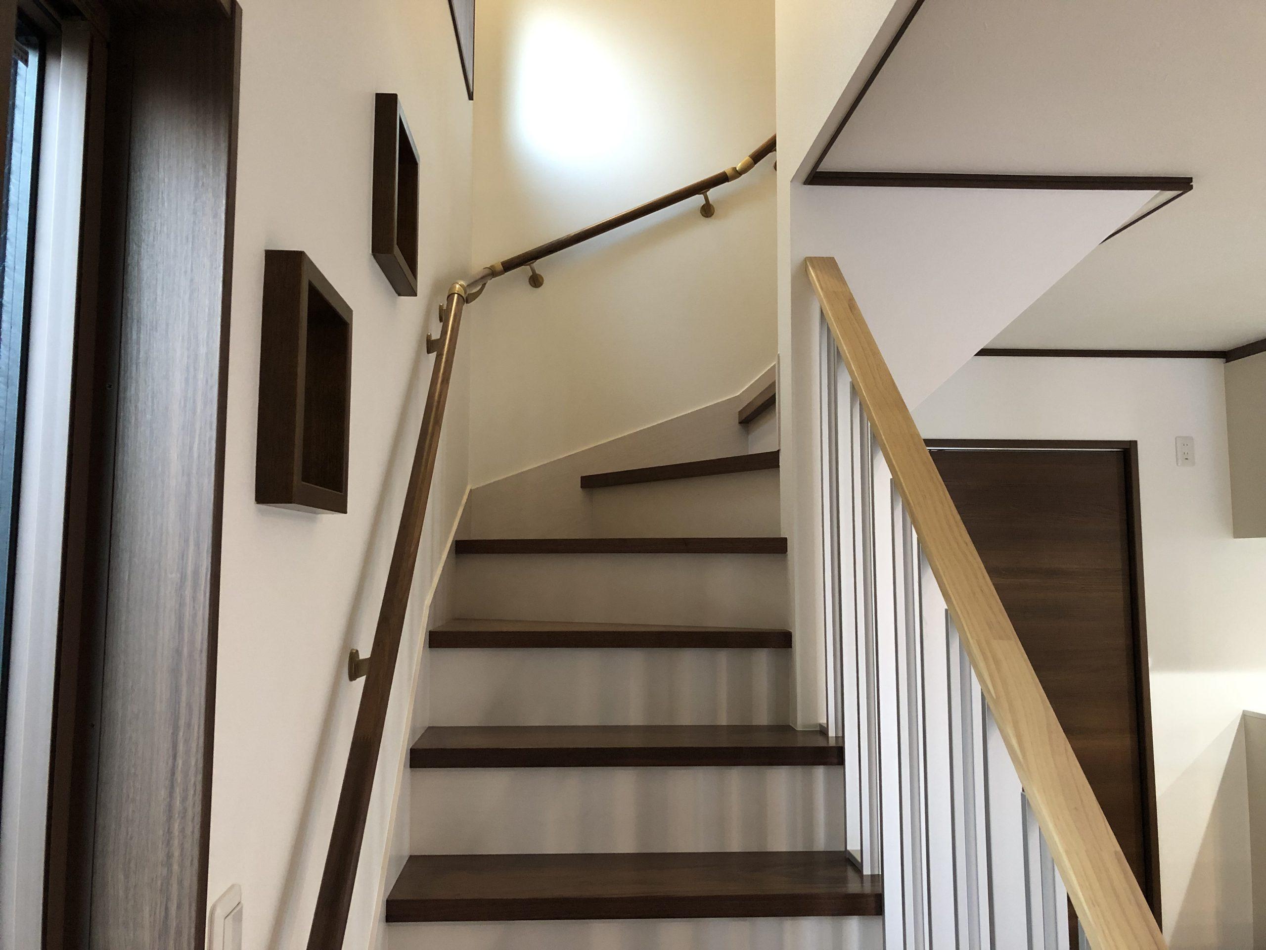 K様邸 リビングイン階段